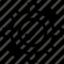 gear, setting, tick icon