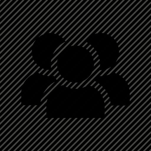 community, group, members, people, social, team, users icon