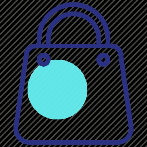 bag, shopping, shopping basket icon