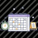planning, timetable, schedule, event reminder, calendar