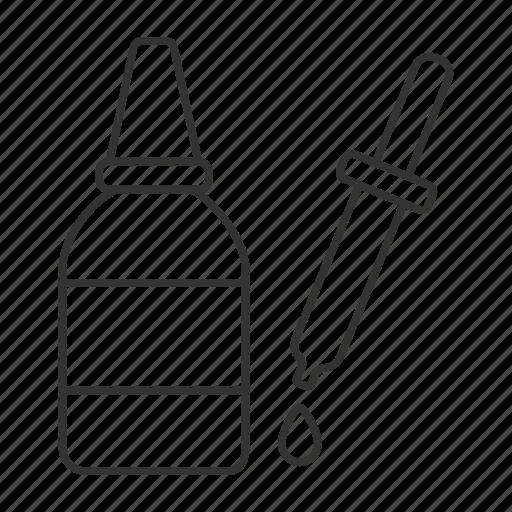 Dropper, drops, eyedropper, medicine, liquid, medication, pipette icon - Download on Iconfinder