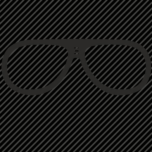 aviator, eyeglasses, glasses, optic, optics icon