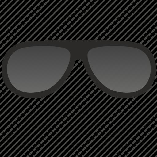 aviator, dark, glasses, optic, optics, sunglasses icon