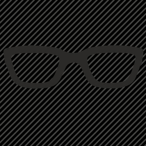 eyeglasses, glasses, horn, optic, optics, rimmed, sunglasses icon