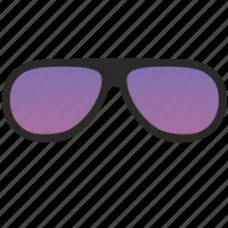 aviator, eyeglasses, glasses, optic, optics, purple, sunglasses icon