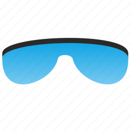 blue, eyeglasses, glasses, optic, optics, ski, special icon