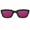 glasses, optic, optics, purple, sunglasses, uf icon