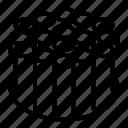 cable, fiber, fibre, optic, stranded, structure, wire icon