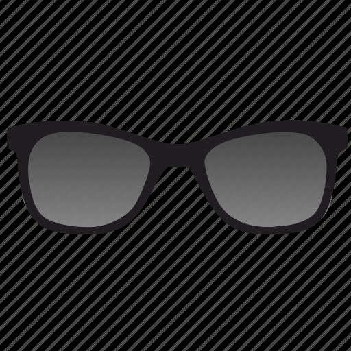 dark, glasses, optics icon