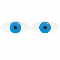 blue, eyes icon