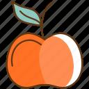 apple, autumn, cold, fall, fruit, healthy, season icon