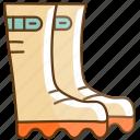 autumn, boot, cold, fall, season icon