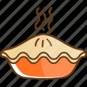 autumn, cold, fall, food, pie, season, sweet icon