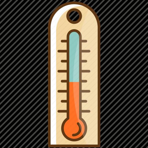 autumn, cold, fall, season, temperature, thermometer, weather icon