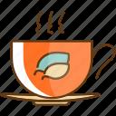 autumn, cup, drink, fall, hot, season, tea icon