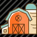 autumn, cold, fall, farm, home, house, season