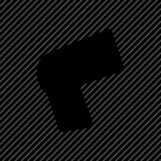 body, knee, member, organ, part icon icon