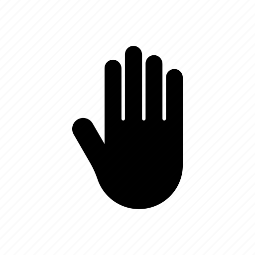 body, hand, member, organ, palm, part icon