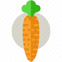 carrot, food, harvest, health, meal, organic icon