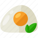 egg, food, health, meal, organic icon