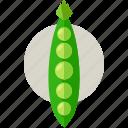food, harvest, health, organic, peas, vegetable