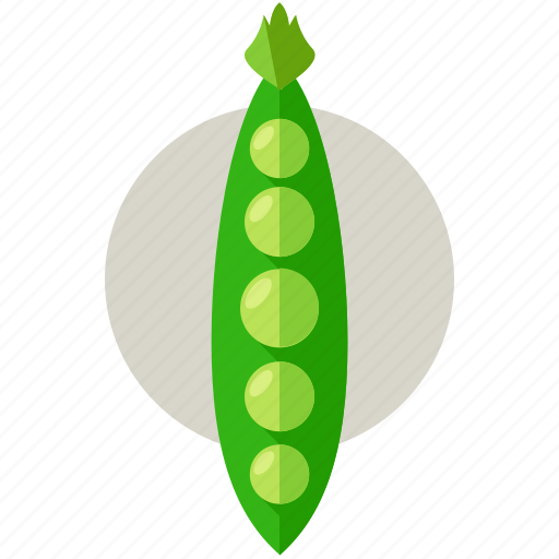 food, harvest, health, organic, peas, vegetable icon
