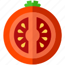 food, health, meal, organic, salad, tomato, vegetable icon