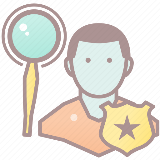 detective, game, genre, noir, roleplay, rpg icon
