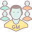 game master, roleplay, rpg, team icon