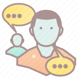 chat, conversation, genre, roleplay, rpg, social icon