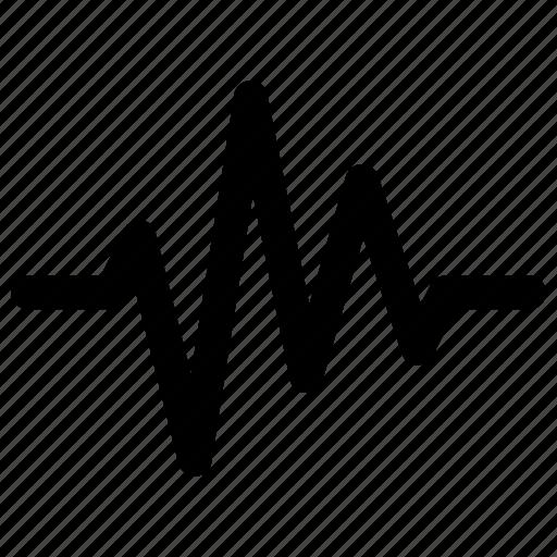 activity, heartbeat, lifeline, pulse, wave icon