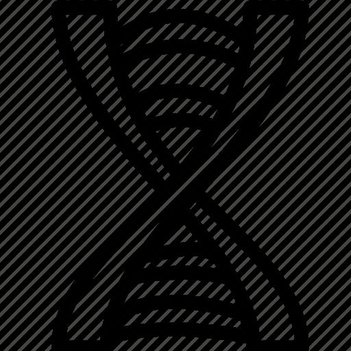biology, dna, genetics, medical, molecule, science icon