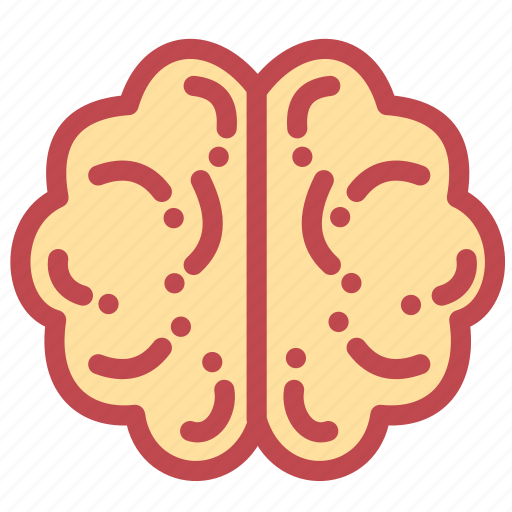 brain, head, mind, scary, skull, think icon