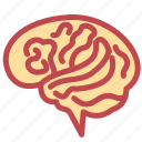 brain, brains, halloween, mind, scary, think, zombie icon