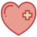 heart, love, romance, valentine icon