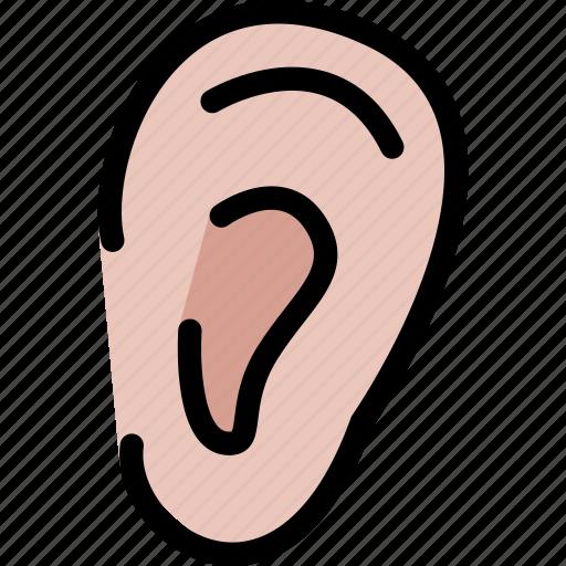 body, doctor, ear, organ, surgery, treatment icon