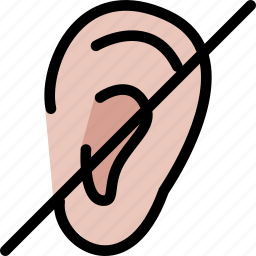 body, doctor, ear, organ, surgery, treatment icon