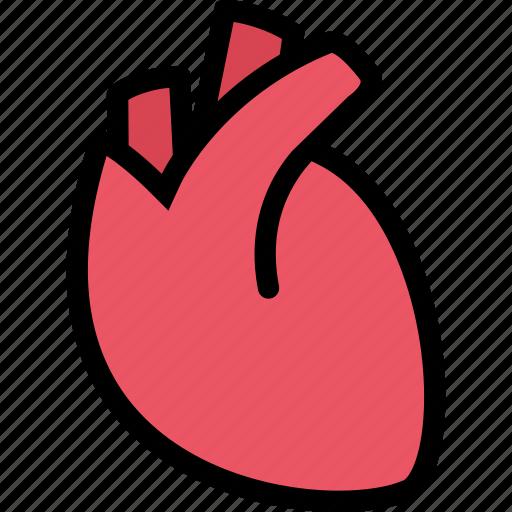 body, doctor, heart, organ, surgery, treatment icon
