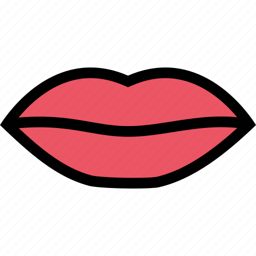 body, doctor, lips, organ, surgery, treatment icon