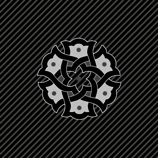 christmas, flower, islam, islamic, oriental, ornament icon