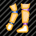 arms, leg, orthopedic, prosthetics icon