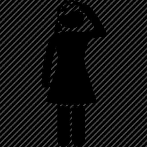 Bandage, head, injured, injury, woman, wrap icon - Download on Iconfinder