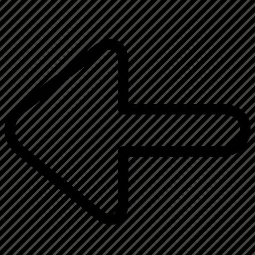 arrow, arrows, back, download icon