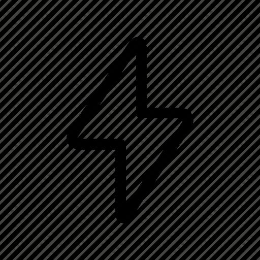 alarm, attention, bolt, caution icon