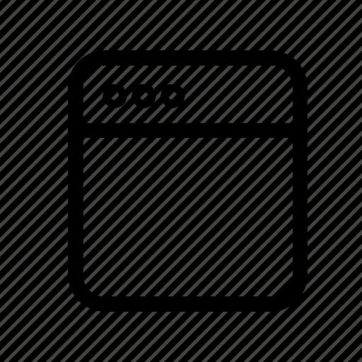 application, browseer, seo, window icon