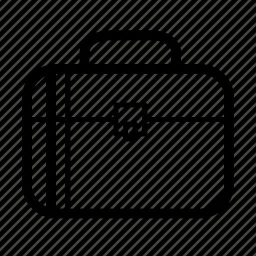 baggage, briefcase, job icon