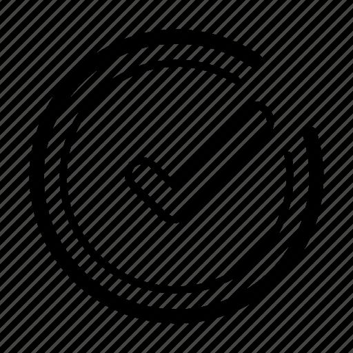 checklist, checkmark, document, done, todo icon