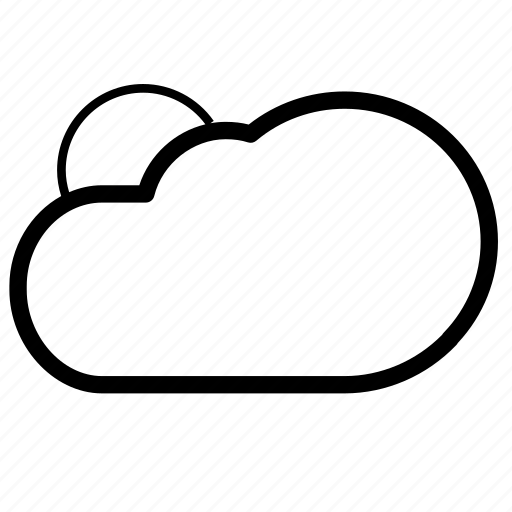 cloudy, sun, sunny, temperature, weather icon