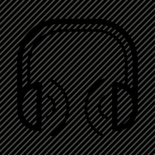 game, headphones, music, play, volume icon