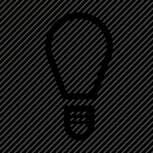 brain, bulb, creative, idea icon